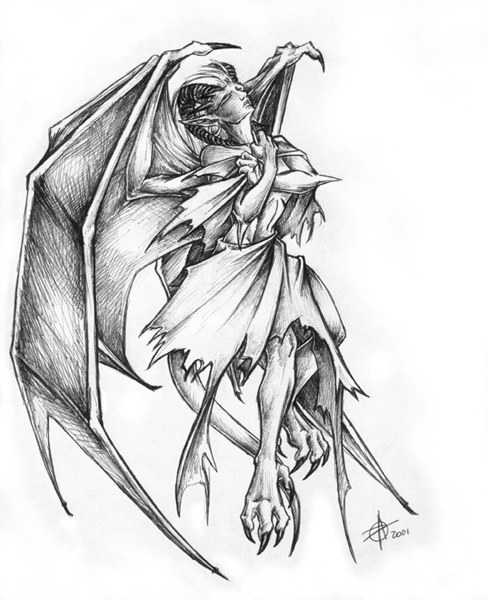 Gallery furry art dragon pic arts dessin fantastique - Dessin de demon ...