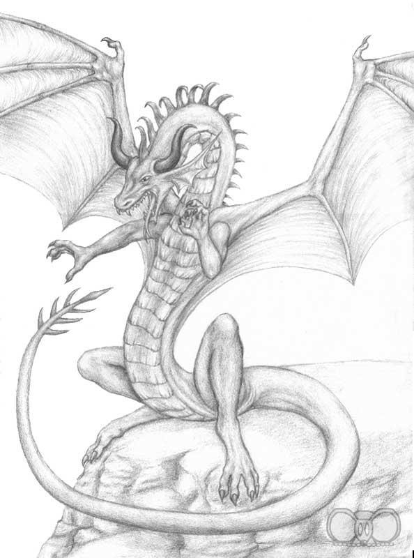 Quelques dessins a la main  - Page 2 Grardragon